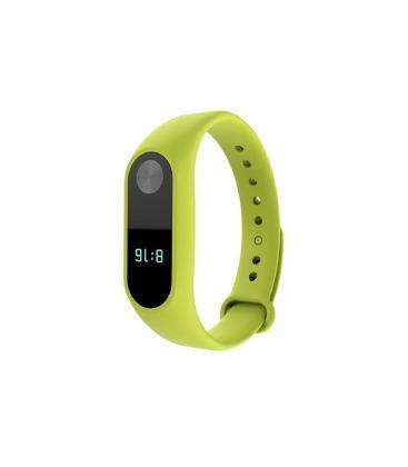 Bracelet silicone de remplacement pour montre bracelet Xiaomi mon bracelet 3 vert