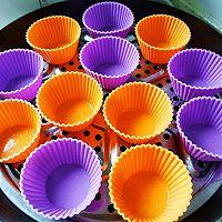 桂花、红枣黑米发糕的做法图解21