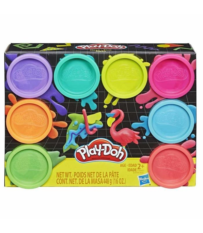 Playdoh Pack 8 Boats Neon Toy Store