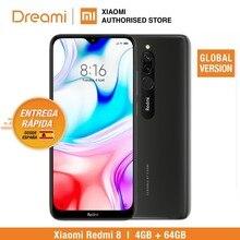 Глобальная версия Xiaomi Redmi 8 64 Гб ROM 4 Гб RAM (абсолютно новая/запечатанная) redmi8 32gb redmi832 Мобильный смартфон, телефон, смартфон