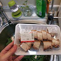 宅家吃多了,来款刮油神器,给肠道洗个澡→芥兰炒烧肉的做法图解2