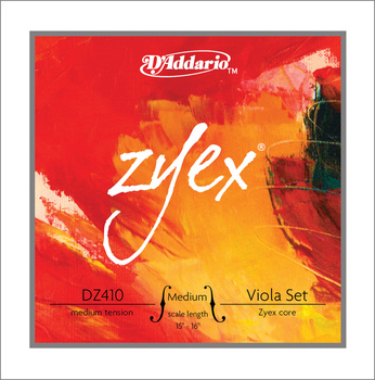 Dz410-mm juego de cuerdas zyex para Alta tensión media, D'Addario