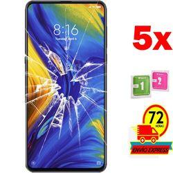5x ochraniacze ekranu szkło hartowane dla Xiao mi mi mi x 3 (nie pełne patrz informacje)