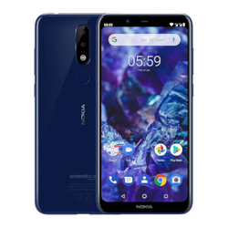Nokia 5,1 Plus 3 Гб/32 ГБ Blue Dual SIM