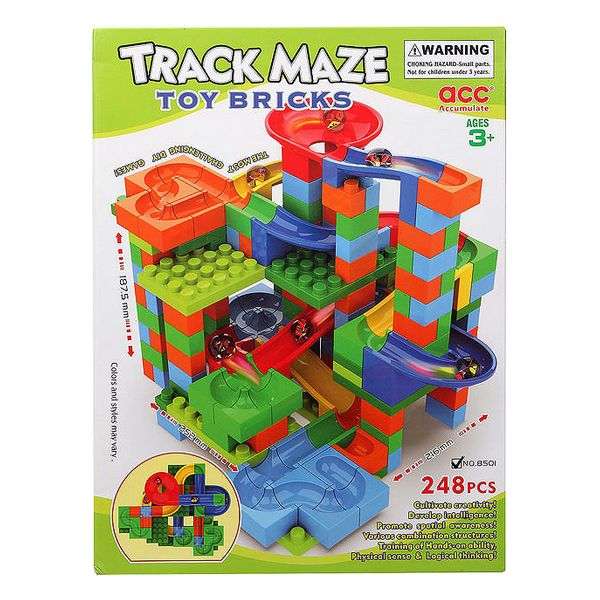 Building Blocks Game Track Maze 118056 (248 Pcs)