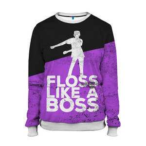 Женский свитшот 3D «Floss Like A Boss», рисунки на свитшотах, индивидуальная и модная толстовка