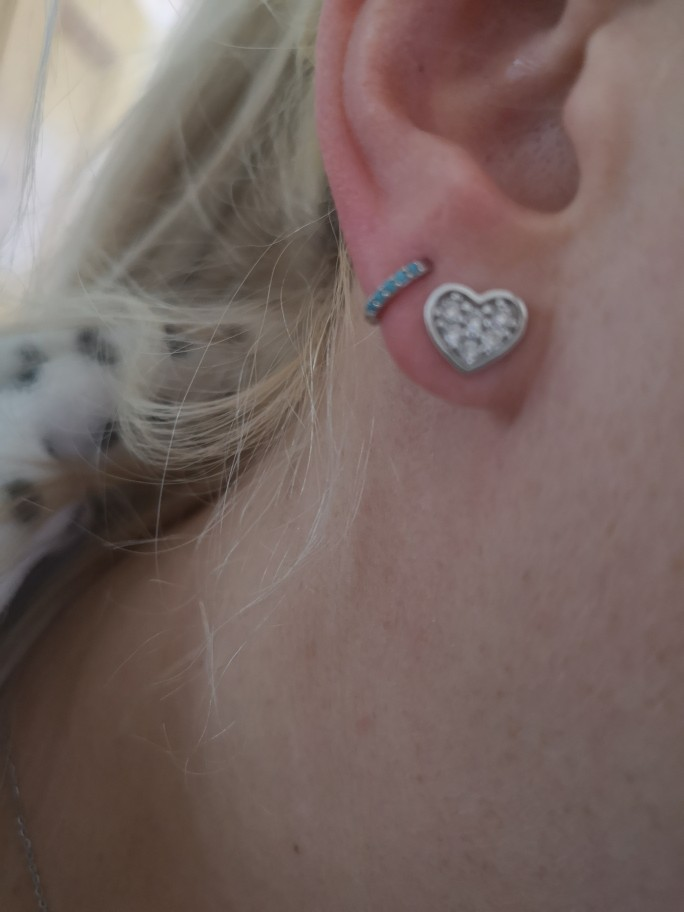 Roxi 925 Sterling Silver Earrings For Women/Men Small Hoop Earrings Ear Bone aros Tiny Ear Nose Ring Girl aretes ear hoops A30 photo review