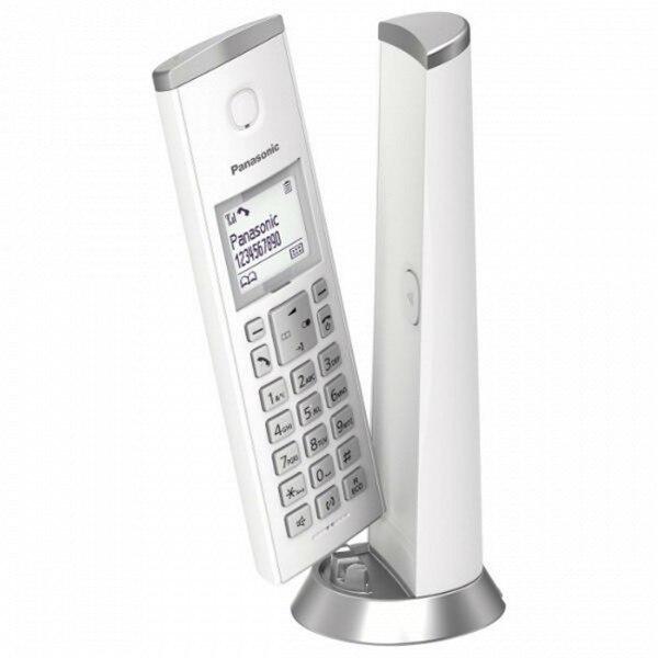 Беспроводной телефон Panasonic KX-TGK210SPW DECT белый