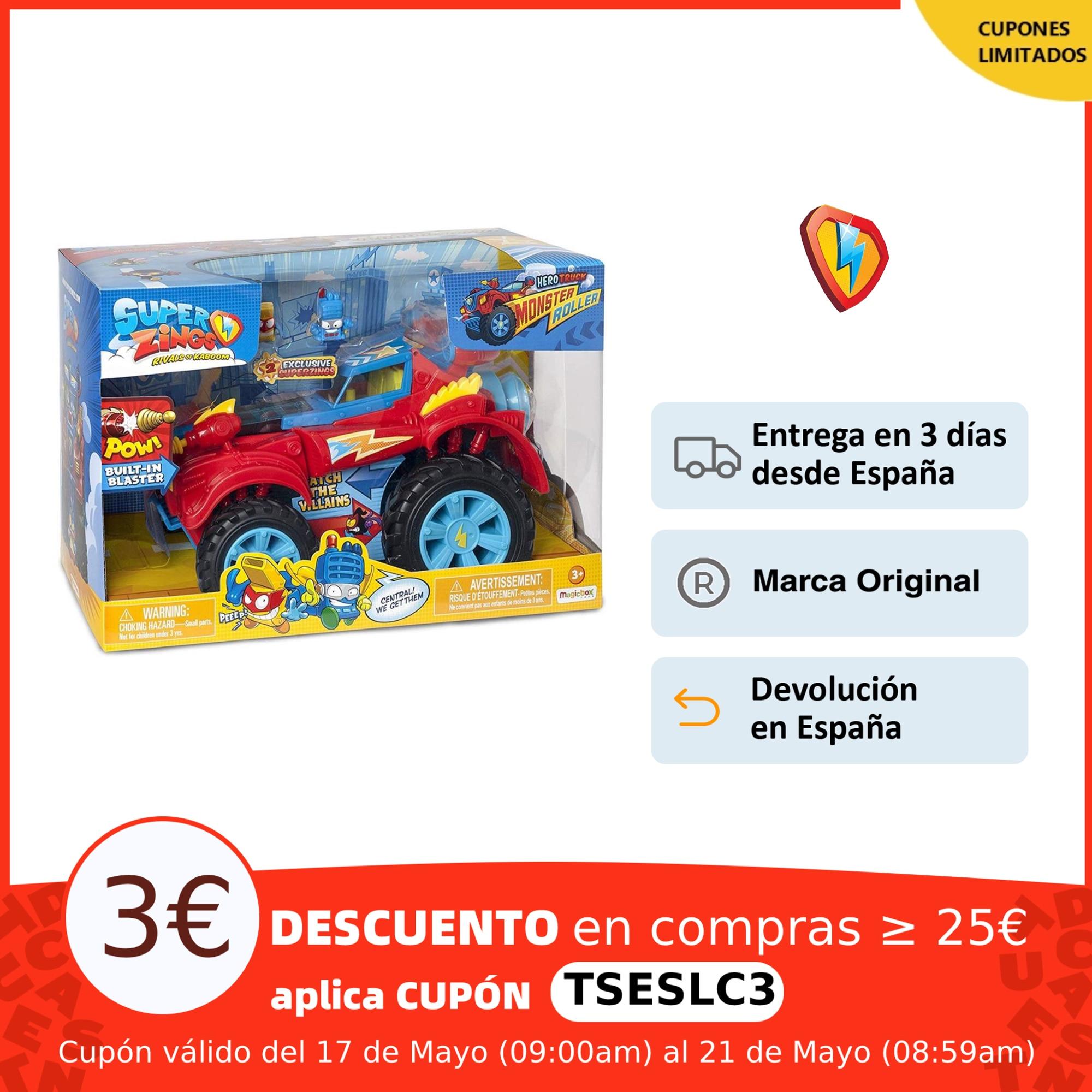 SuperZings PlaySet Héroe Truck con Vehículo y 2 Figuras Especiales coleccionables|Juego de colección de cartas| - AliExpress