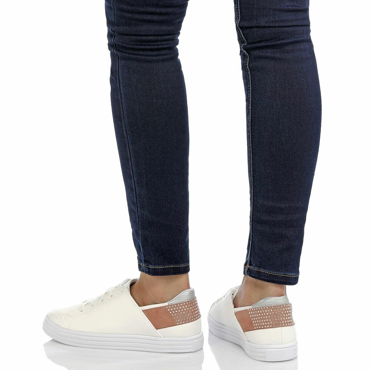 FLO CS18058 White Women 'S Sneaker Shoes BUTIGO