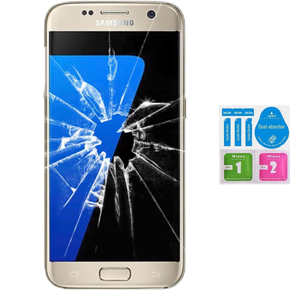 Screen Protector Tempered Glass Vidrio Para For SAMSUNG GALAXY S7 G930F (Generico, Not Full
