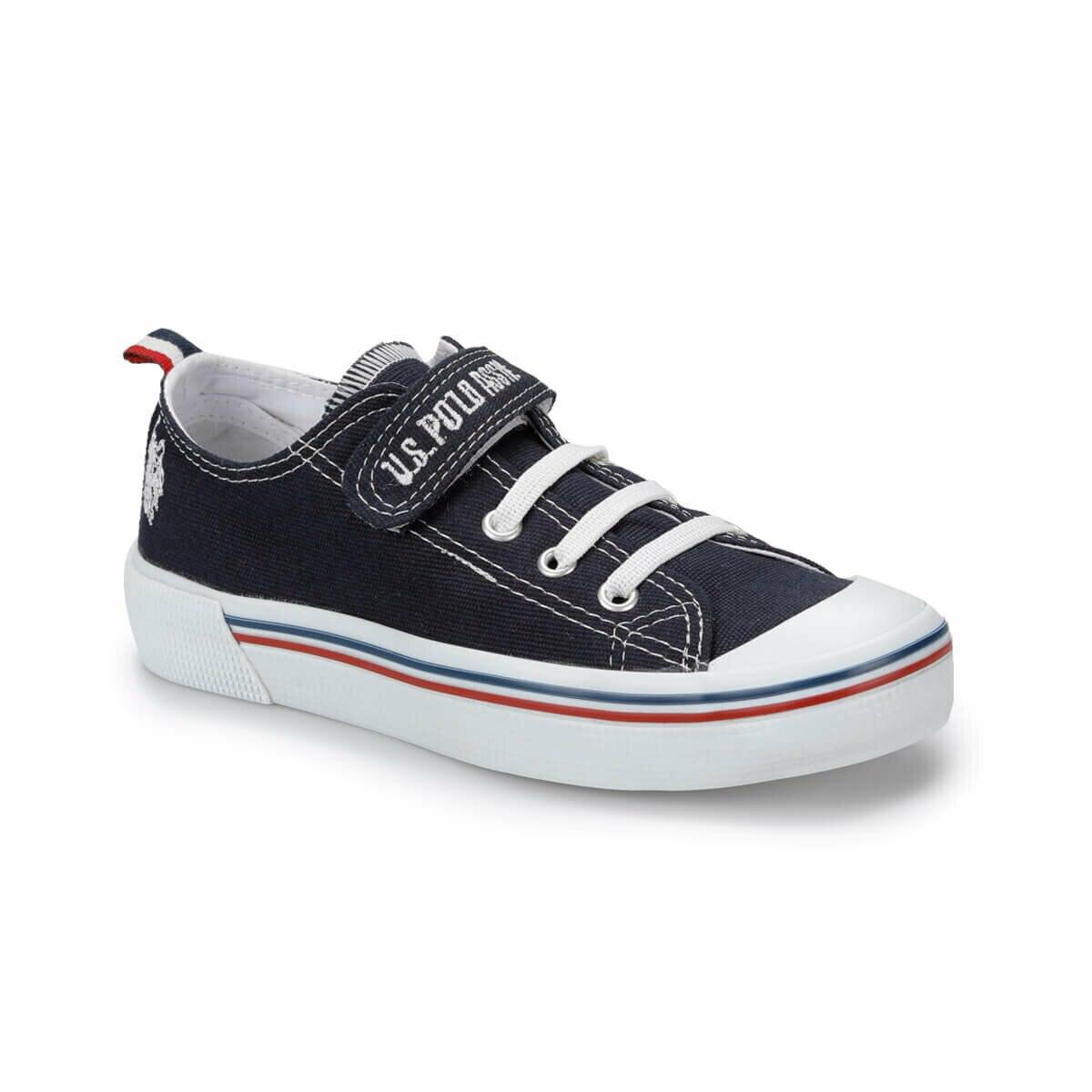 FLO PENELOPE Navy Blue Unisex Children Sneaker Shoes U.S. POLO ASSN.