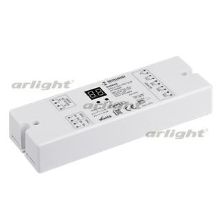 026504 INTELLIGENT. ARLIGHT Dimmer DALI-104-PD-SUF (12-36 V, 4х8А [Plastic] Box-1 Pcs ARLIGHT-Управление Light/Gray ~ 80