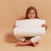 Memory orthopedic pillow with memory effect (50*32*10 cm)