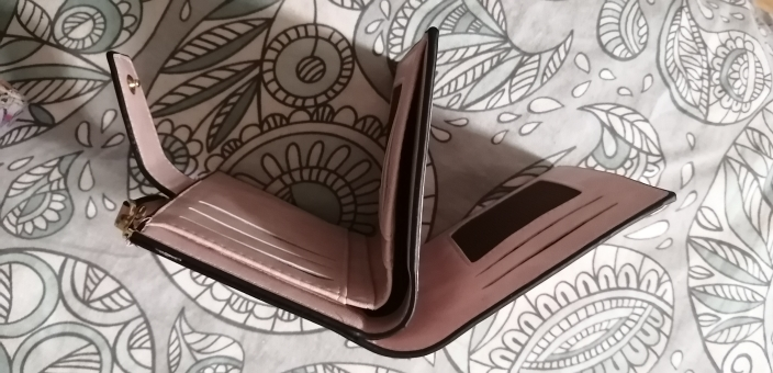 2021 Leather Women Wallet Hasp Small and Slim Coin Pocket Purse Women Wallets Cards Holders Luxury Brand Wallets Designer Purse photo review