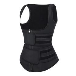 Trainer Secret Sauna Vest Body Shapper 9 Steel Bone Afslanken Taille Trainer Shaper Verstelbare Zweet Riem Corset Workout Shapewear