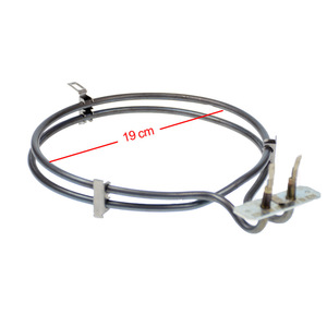 Image 3 - Fırın ısıtma için yedek Bosch ve Siemens HM22022, HSV242R Fan fırın elemanı 00236685