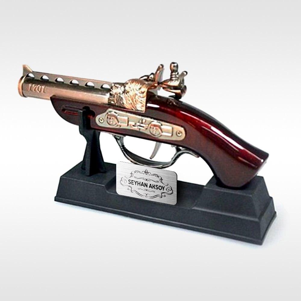 Personalized Antique Gun Looking Trinket Lighter|Cigar Accessories|Home & Garden - title=