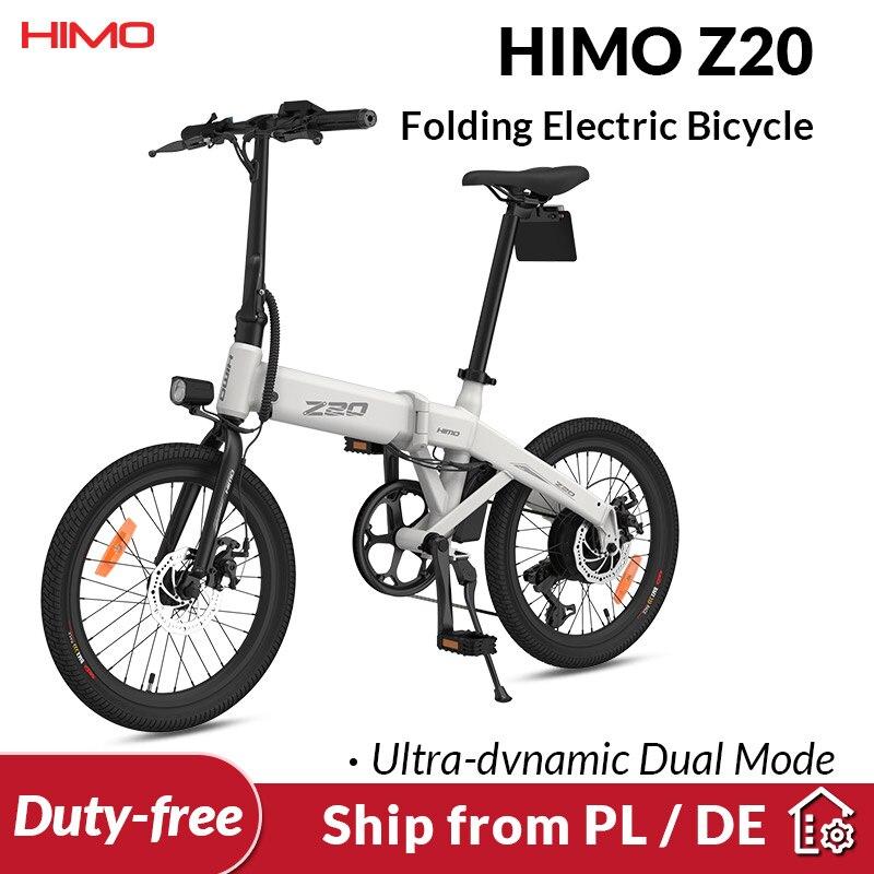 STOCK ue HIMO Z20 bici elettrica ultra-dinamica Dual Mode pieghevole E Bike 250W 10Ah bicicletta urbana allaperto 80KM chilometraggio e-bike da spiaggia