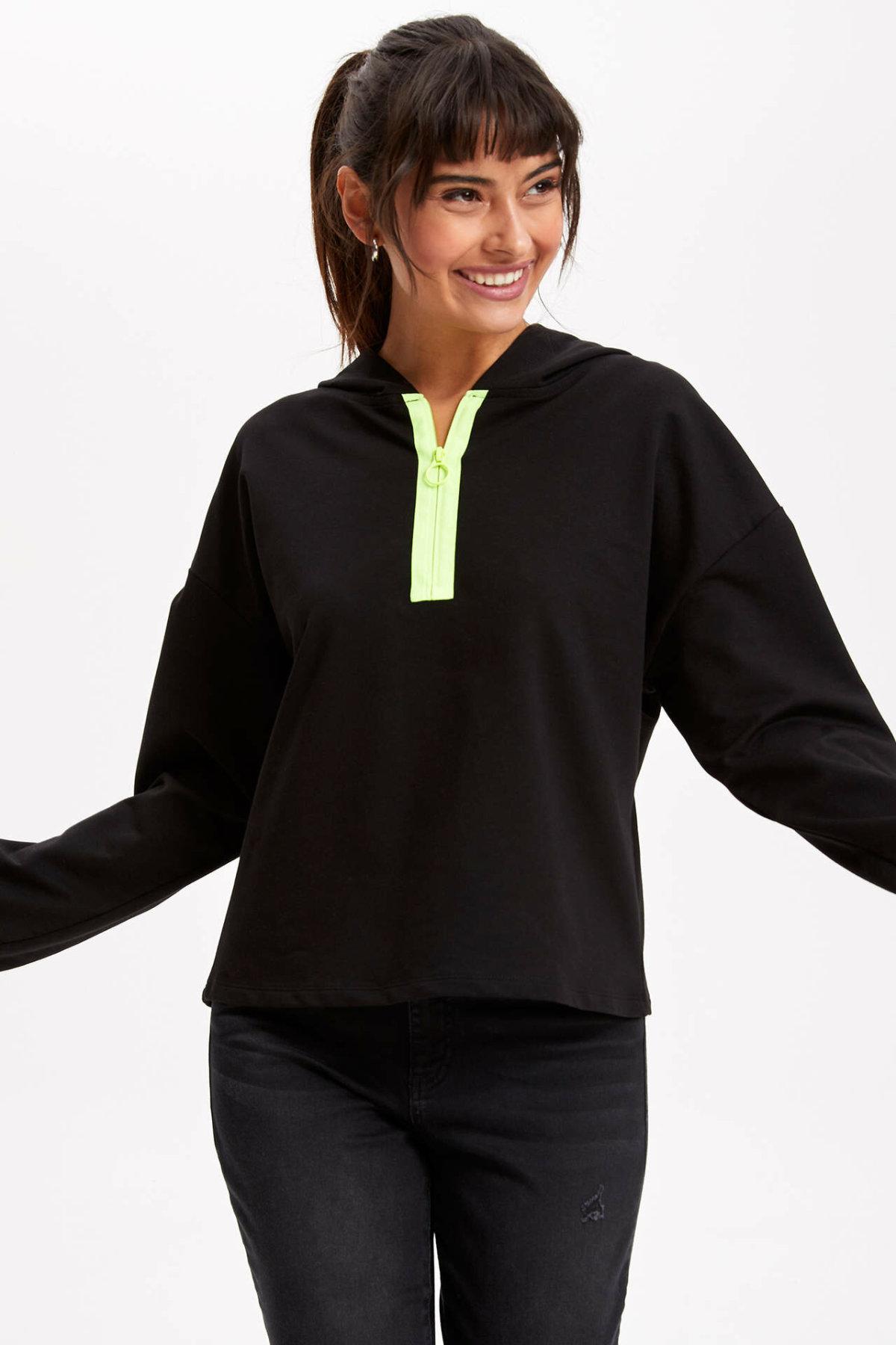 DeFacto Woman Sweat Shirt-K8928AZ19SM