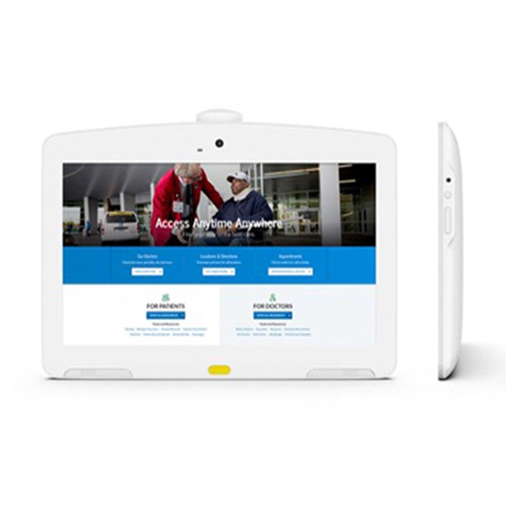 13,3 дюймовый белый планшет Android POE идеально подходит для больничного интерактивного дисплея, киоск самообслуживания с 10-точечным сенсорным экраном FHD IPS-0