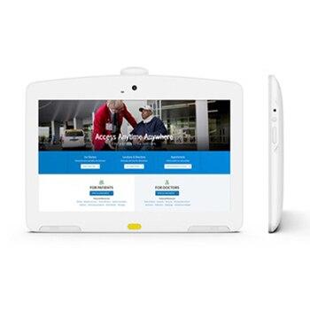 13,3 дюймовый белый планшет Android POE идеально подходит для больничного интерактивного дисплея, киоск самообслуживания с 10-точечным сенсорным экраном FHD IPS