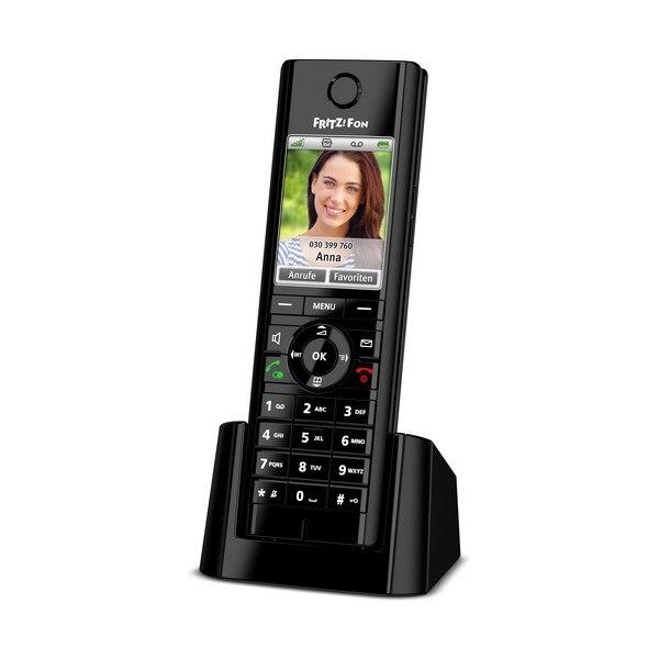 Беспроводной телефон Fritz! Fon C5 DECT GAP черный