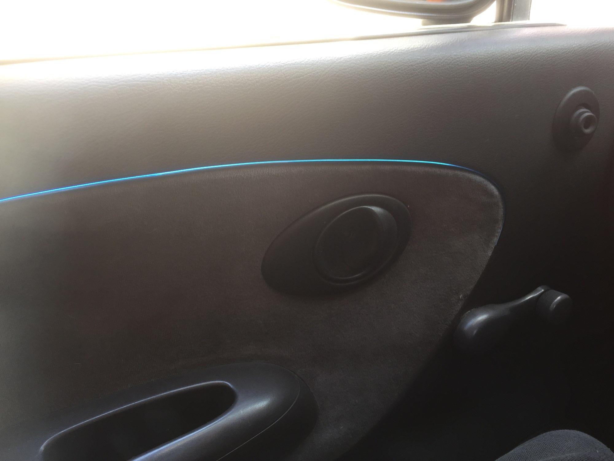 5 metros coche sello Accesorios Estilo Exterior Interior decoración tira de la puerta moldeado Trim panel Edge Universal de crom