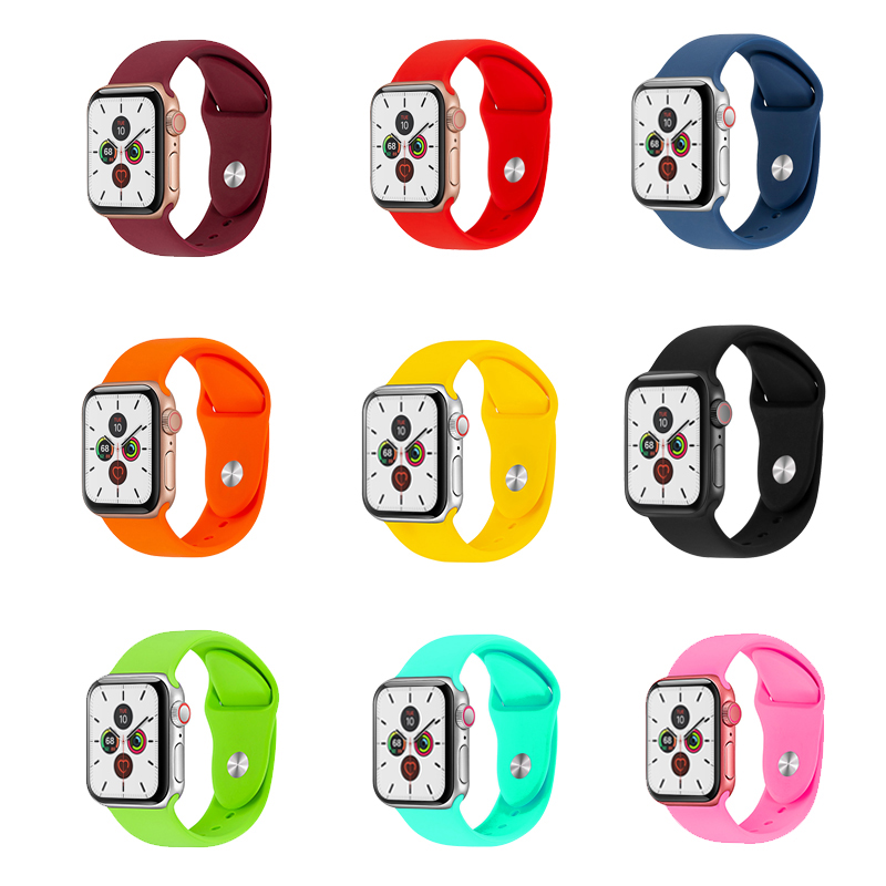 Apple Watch Strap Apple Watch Band Fluoroelastomer Silicone Sport Band Apple Watch 3 Apple Watch 5 Free Shipping From Spain