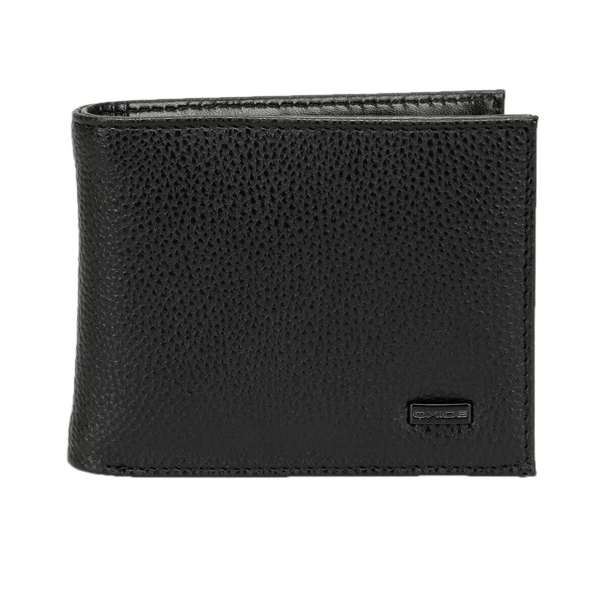 FLO MKNY2208 Black Male Wallet Oxide