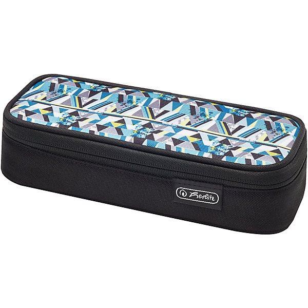 Pencil Case-cosmetic bag Herlitz Cube Clutter MTpromo цена и фото