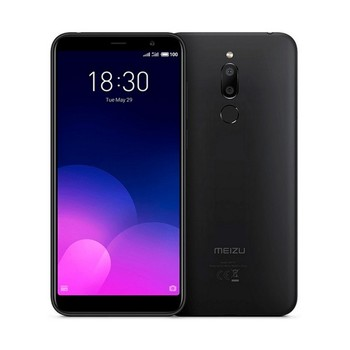 Перейти на Алиэкспресс и купить Meizu m6t Черный 4g телефон с двумя sim-картами 5,7 дюйма IPS hd +