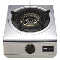 Fogão a gás orbegozo FO-1700 1 fogão de aço inoxidável