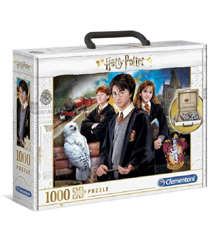 BRIEFCASE HARRY POTTER - PUZZLE 1000 PIECES