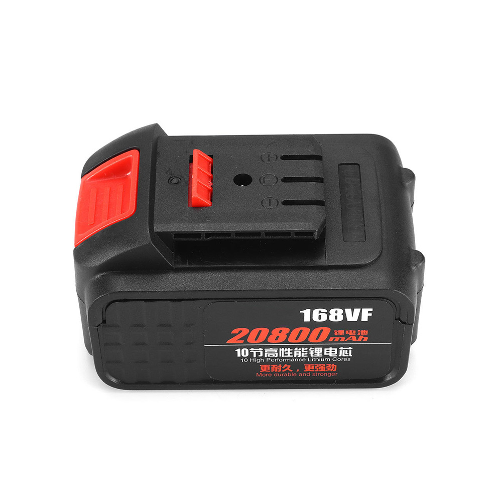 ALLSOME 168VF 20800mah Battery for Brushless Electric Wrench Cordless Waterproof Impact Wrench