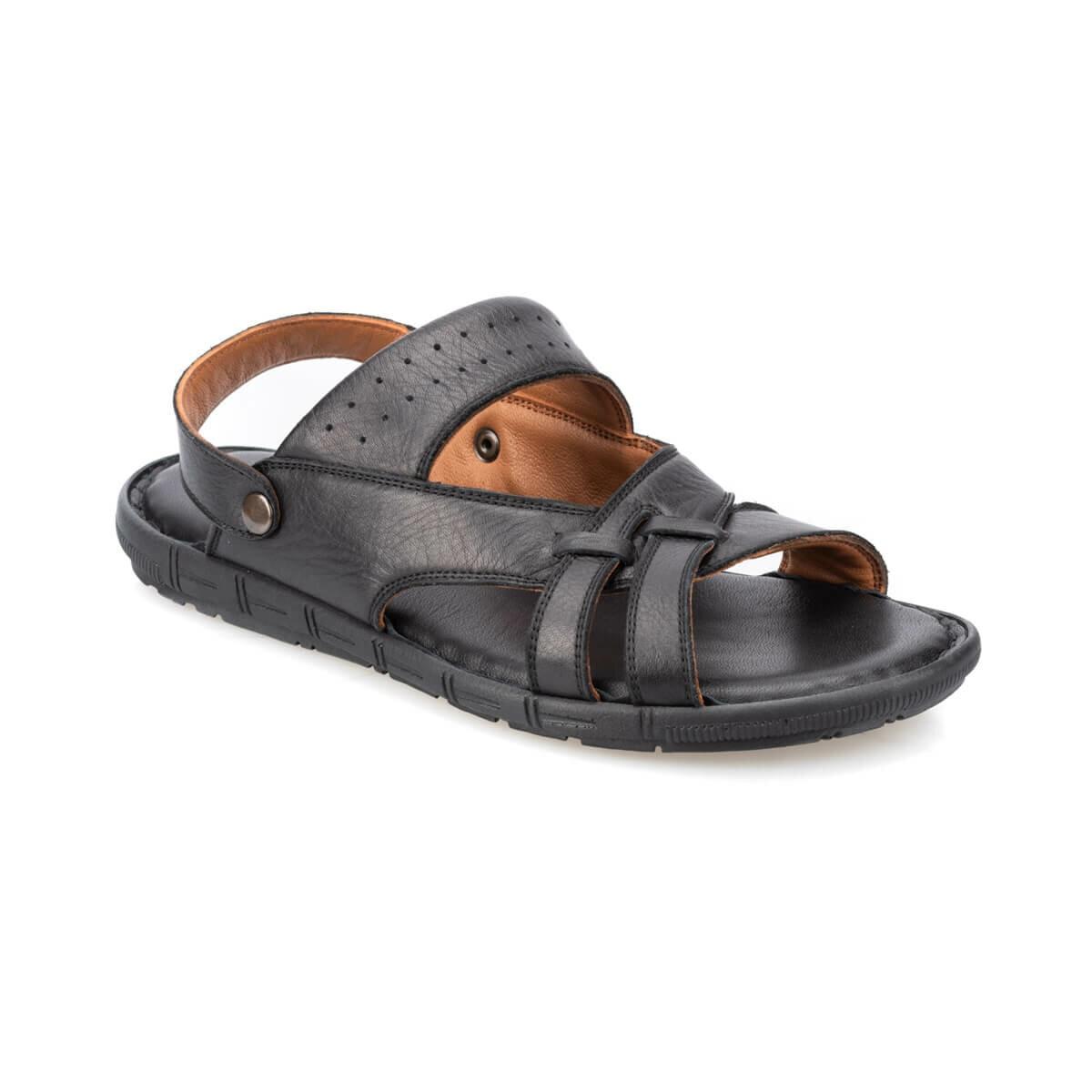FLO 91. 157710.M Black Male Sandals Polaris