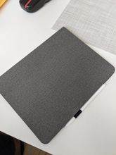 nice case , although I thought it will be fabric , but it's more of rubber/fabric material