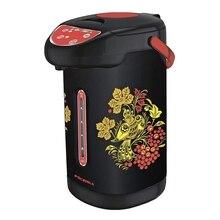 Термопот Росинка РОС-1011 хохлома(объем 4 л, мощность 900 вт, 3 способа подачи воды, режим повторного кипячения