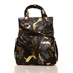 Ebebek Babymom Baby & Mama Mehrzweck Stern Camouflage Rucksack Tasche