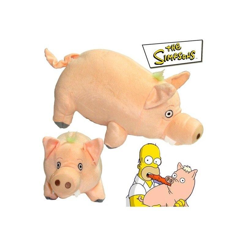 Simpsons Pig Plush Ballinalakeside.com 15X25CM