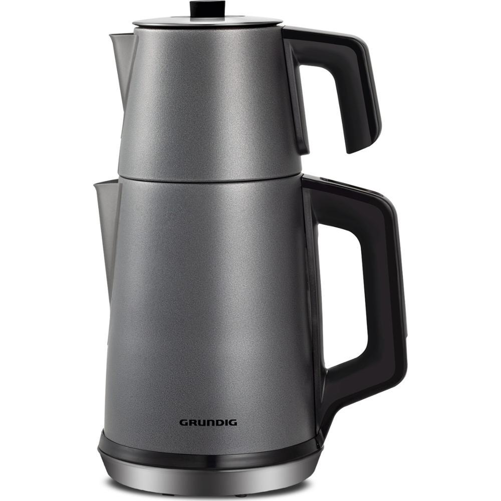 Grundig TM 6860 Steel Electric Teapot | turkish tea | tea machine | water heater | teapot | hot tea