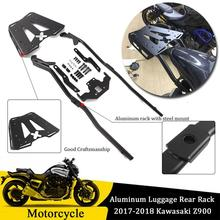 Motorcycle Black Top Rear Luggage Rack Carrier Luggage Rack Fender Support Bracket for 2017-2018 Kawasaki Z900 Z 900 Accessories motorcycle accessories rear fender rack support shelf luggage carrier rack fit for yamaha xt250 serow 1985 2005