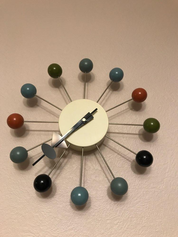 Decor wall clock watch quiet Wall Clocks Quartz Needle popular fashion wooden ball clock decor living room and kid room