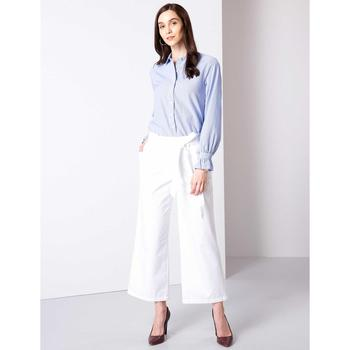 Pierre Cardin białe spodnie 50204553-VR013 tanie i dobre opinie