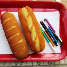 Kreatywny chleb piórnik tkanina śliczne szkolne artykuły papiernicze prezent szkoła śliczne schowek Penci lcase piórnik