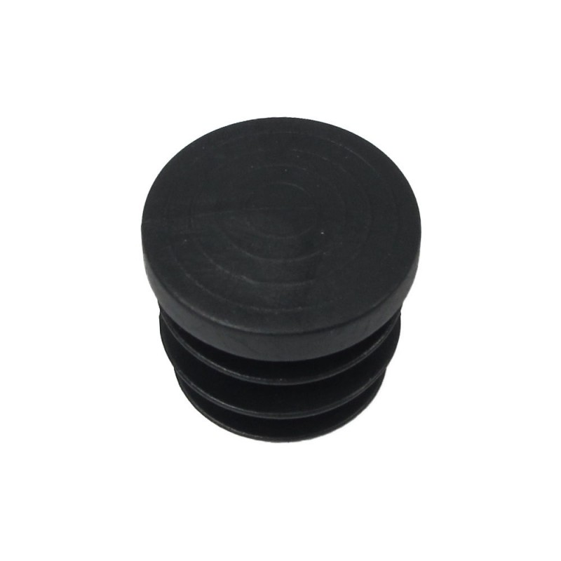 Cone Round Black 25mm. Blister 4 PCs.