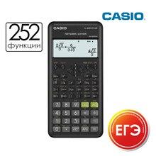 Научный калькулятор CASIO FX-82ESPLUS-2 не программируемый разрешен для экзаменов ЕГЭ 252 функции