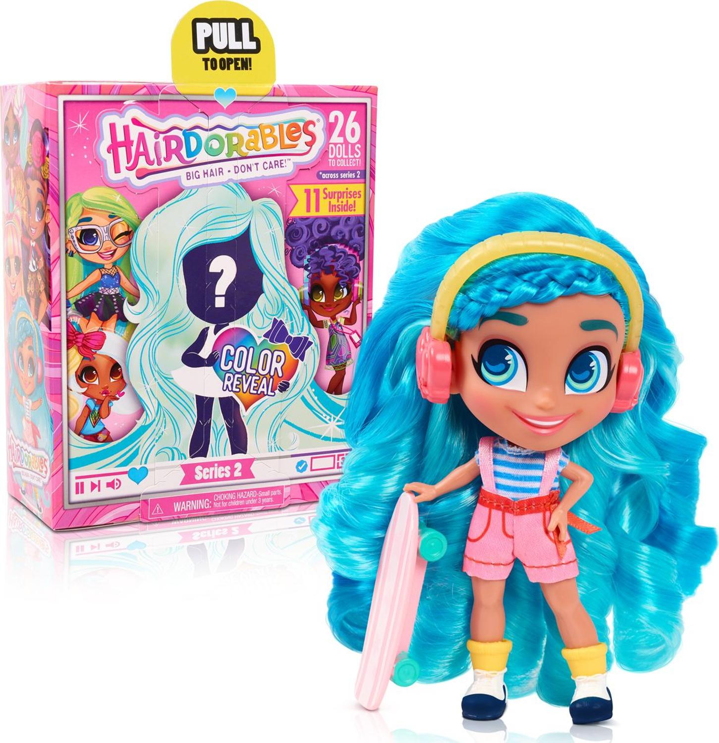 Doll Hairdorables Fashion Images, 2 Series