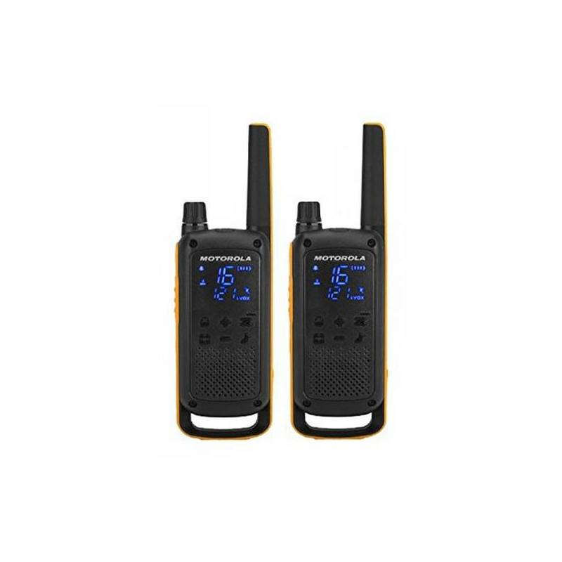 Walkie-Talkie Motorola T82 Extreme (2 Pcs) Black Yellow