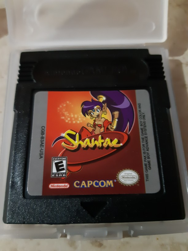 For Nintendo GBC Video Game Cartridge Console Card Shantae English Language Version photo review